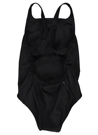 adidas Adidas Çocuk Yüzücü Mayosu Dy5923 Fıt Suıt Sol Y Siyah
